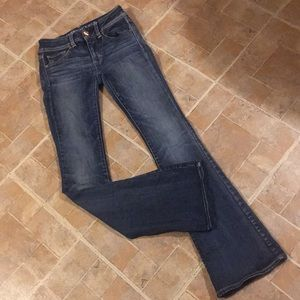 American Eagle kick boot jeans size women's 0
